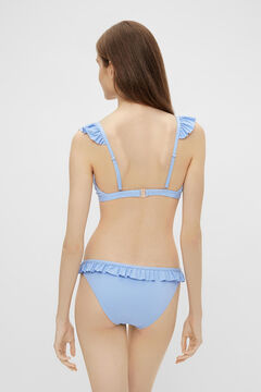 Springfield Bandeau Bikini top bluish
