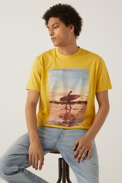Springfield Surf T-shirt banana