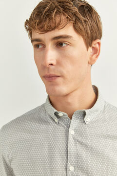 Springfield PRINTED SHIRT grey