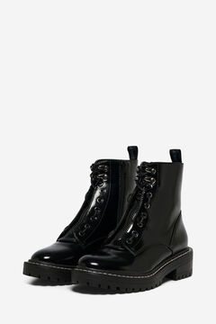 Springfield Detachable zip boot black