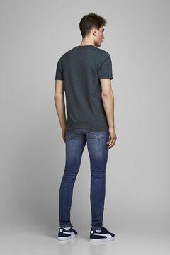 Springfield Skinny fit rocker jeans bleuté