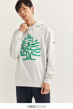 Springfield Sudadera capucha árbol gris clair