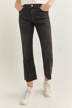 Springfield Jeans Kick Flared preto