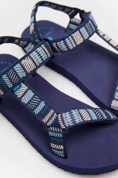 Springfield Adjustable sandal blue