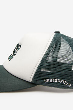 Springfield Embroidered trucker cap oil