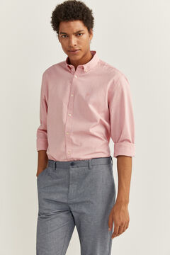 Springfield PINPOINT SHIRT pink