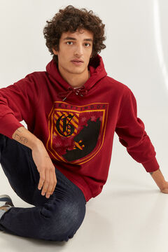 Springfield Gryffindor Hooded Sweatshirt royal red
