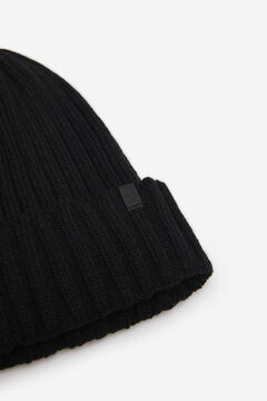 Springfield RIB KNIT HAT black