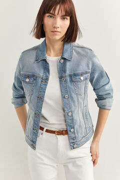 Springfield Essential Denim Jacket  blue