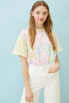 Springfield Tie dye print t-shirt strawberry