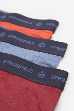 Springfield 3-PACK ESSENTIALS BOXERS blue