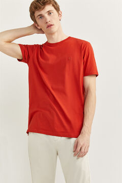 Springfield ESSENTIAL TREE T-SHIRT deep red