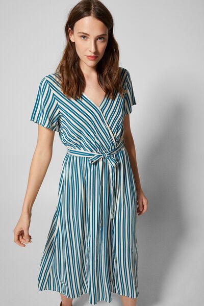 Springfield - Midi stripes dress - 4