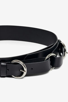 Springfield Leather waist belt black