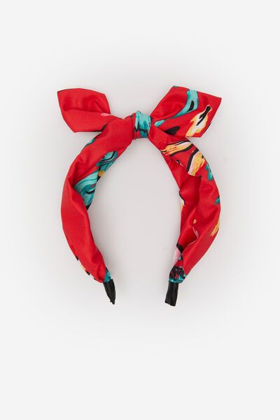 Springfield - Printed fabric rigid headband - 1