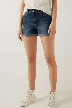 Springfield Basic denim shorts blue