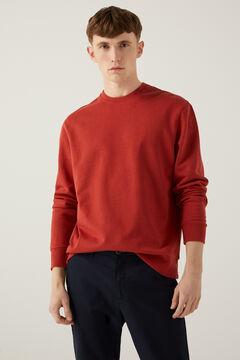 Springfield Crew neck sweatshirt bordeaux