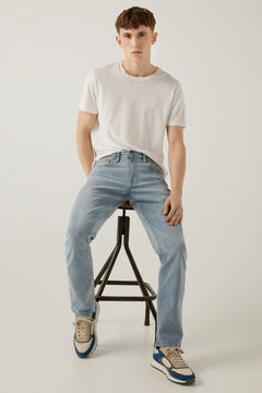 Springfield Jeans regular lavado medio claro azul