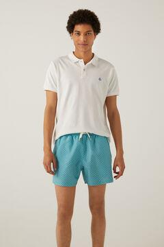 Springfield Printed swim shorts violet