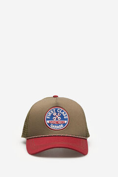 Springfield Cap Trucker Patch grau