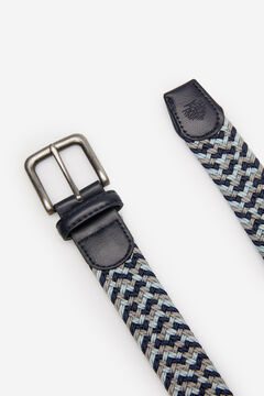 Springfield MULTICOLOURED WOVEN BELT gray