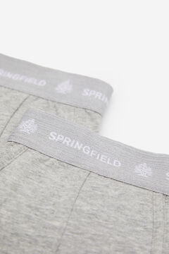 Springfield 2-pack essentials boxers gray