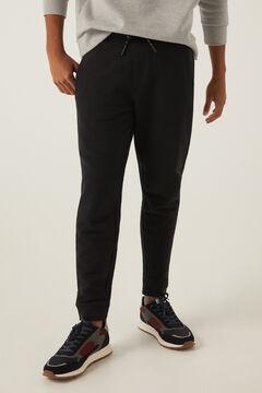 Springfield Piqué joggers black