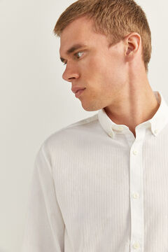 Springfield LIQUID-REPELLENT SHIRT white