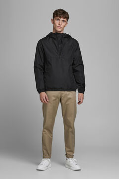 Springfield Two-tone technical jacket black