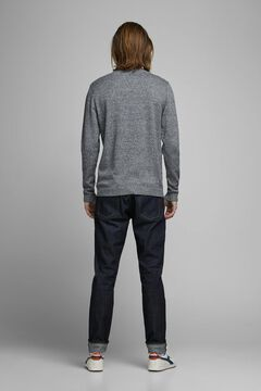 Springfield Crew neck knitted jumper gris