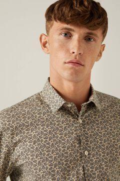 Springfield Hemd mit Print brown