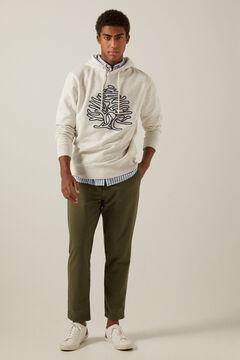 Springfield Comfort knit chinos grey