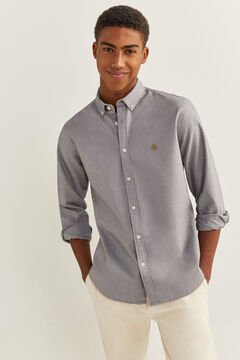Springfield OXFORD SHIRT grey