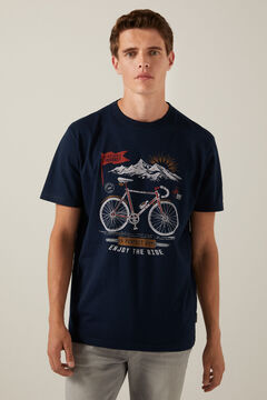 Springfield Bike T-shirt blue