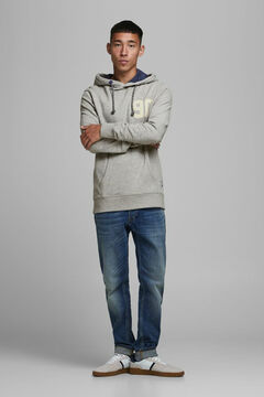 Springfield Sustainable kangaroo sweatshirt gray