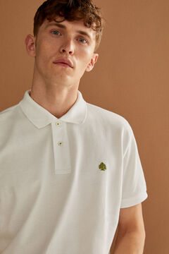 Springfield Galléros sima piké póló fehér