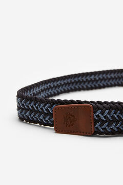 Springfield Multicoloured woven belt bluish
