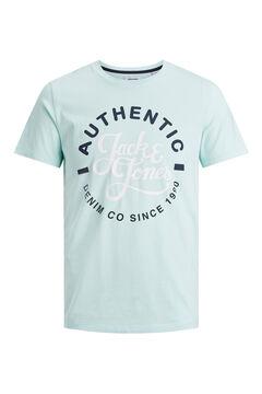 Springfield Logo text t-shirt szürke