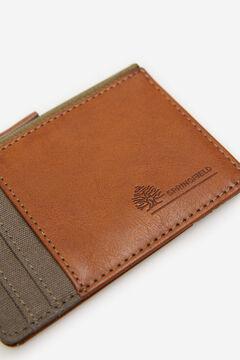 Springfield Porte-monnaie combinaison de tissus marengo