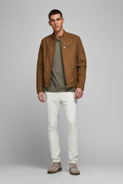 Springfield Biker jacket braun