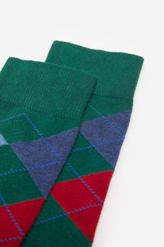Springfield COLOURED DIAMOND SOCKS green