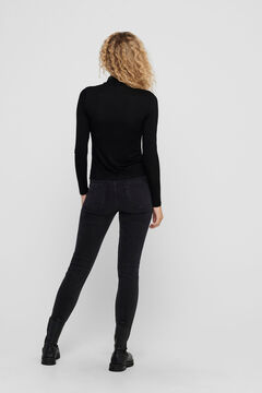 Springfield Polo neck top black