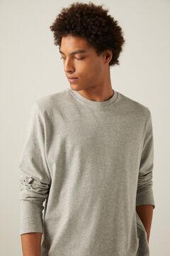 Springfield Boxy long-sleeved T-shirt gray
