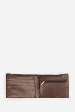 Springfield ESSENTIAL FAUX LEATHER WALLET brown