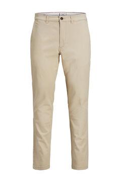 Springfield Pantalón chino Marco slim fit marrón