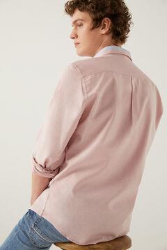 Springfield Camisa pinpoint rosa