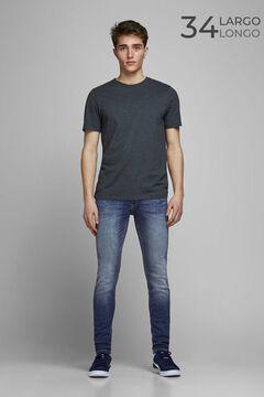 Springfield Skinny fit rocker jeans bluish