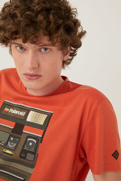 Springfield Polaroid t-shirt terracotta