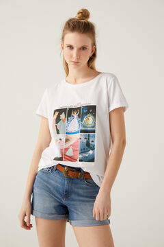 Springfield Cinderella t-shirt white