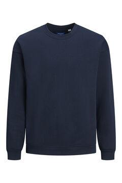 Springfield Plain round neck sweatshirt navy